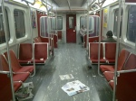 TTC Subway Car inside