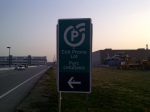 Cell Phone (Parking) Lot Sign at Toronto's Pearson Airport (YYZ)