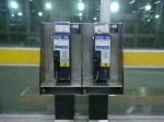 Bell Pay Phone one with text messaging at Toronto's TTC Wilson Subway Station
