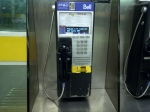 Bell Payphone with text messaging Toronto's TTC Wilson Subway Station