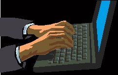 clipart typing