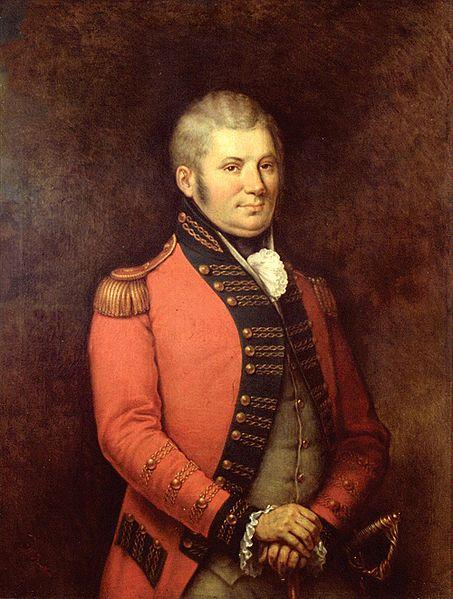 Colonel John Graves Simcoe via Wikipedia http://en.wikipedia.org/wiki/File:ColonelSimcoe.jpg