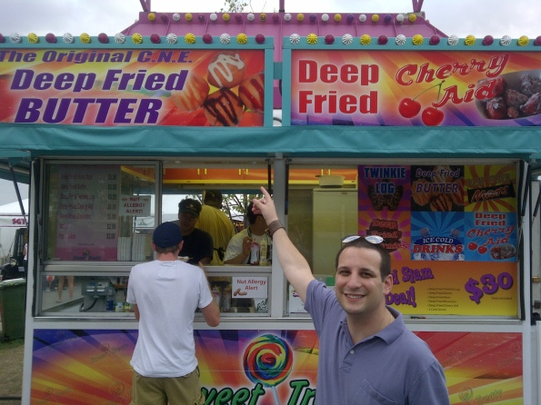 CNE The Ex Deep Fried Butter Stand 2011