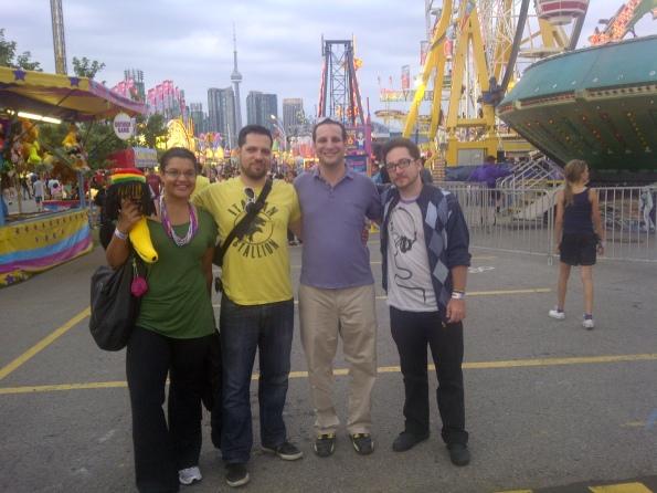The #CNETweetup crew from Left: Jasmine, Michael, Dan, & Brad