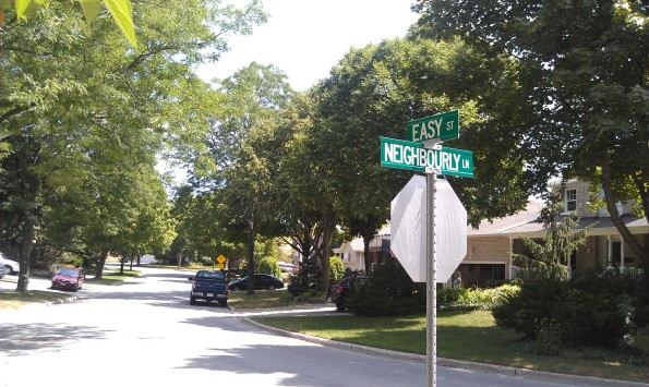 Easy Street & Neighbourly Lane, Richmond Hill Ontario