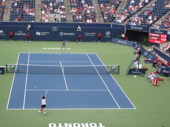 #RogersCup 2011 Radwanska Petkovic Quarterfinal