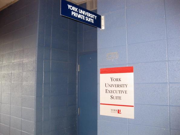 #RogersCup 2011 York University Executive Suite outside Rexall Centre