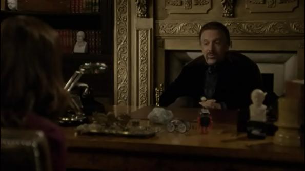 Being Erica - Erica Strange & Dr Tom in Dr Tom's office. Season 2 Episode 10