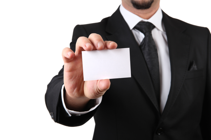 A question of business card etiquette lnn levy news network this reheart Choice Image