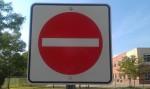 No Entry Sign - Toronto, Ontario, Canada