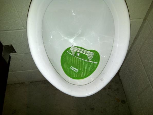 soccer urinal at bmo field toronto canada