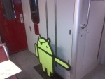 Pirate Android riding the TTC but still directing traffic post-#AndroidTO