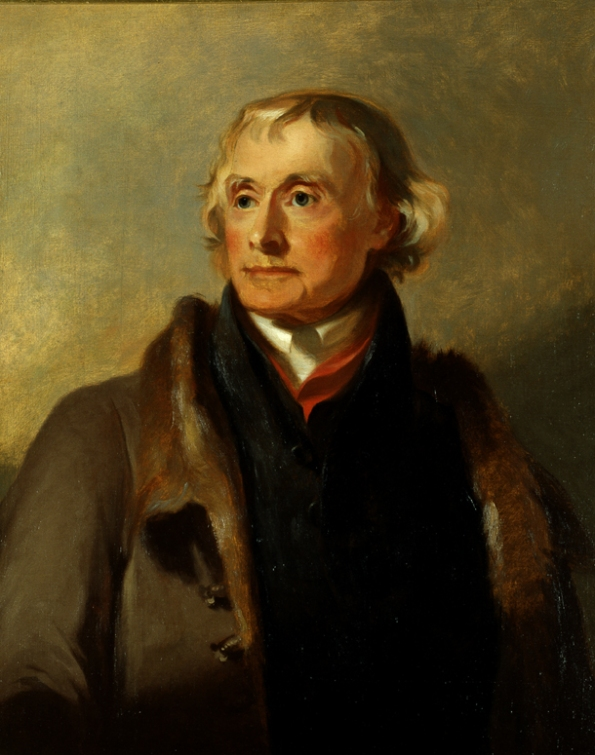 Thomas Jefferson portrait by Thomas Sully via senate.gov
