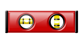 Red Level Tool MC900441292 Microsoft Office Clip Art
