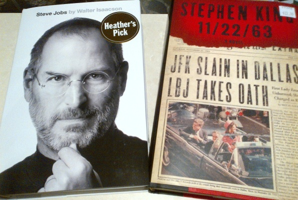 Steve Jobs biography & Stephen King 11-22-63