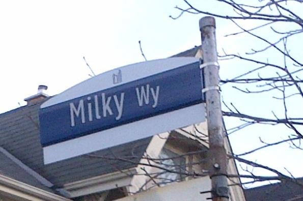 Milky Way Parkdale Toronto