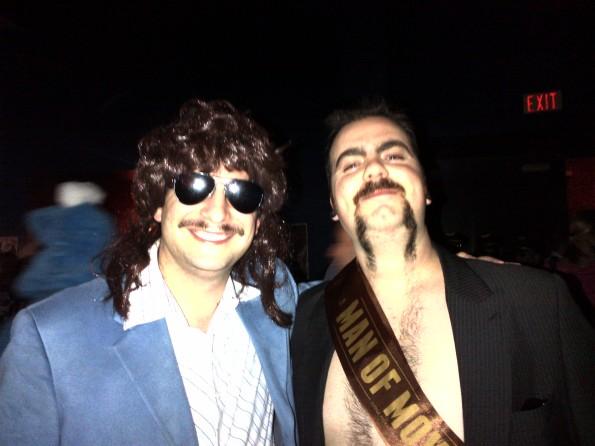 Movember 2011 Gala Toronto - with Man of Movember
