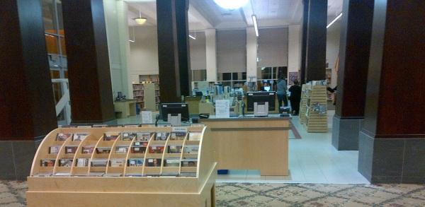 Barbara Frum Toronto Public Library Inside Main Floor Looking West