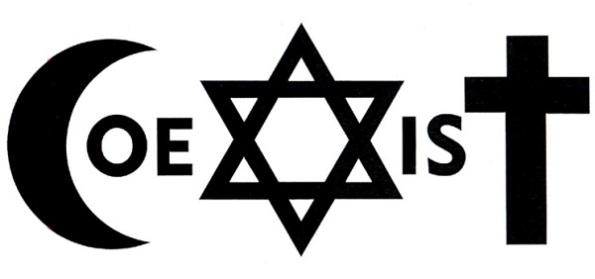 coexist religion logo