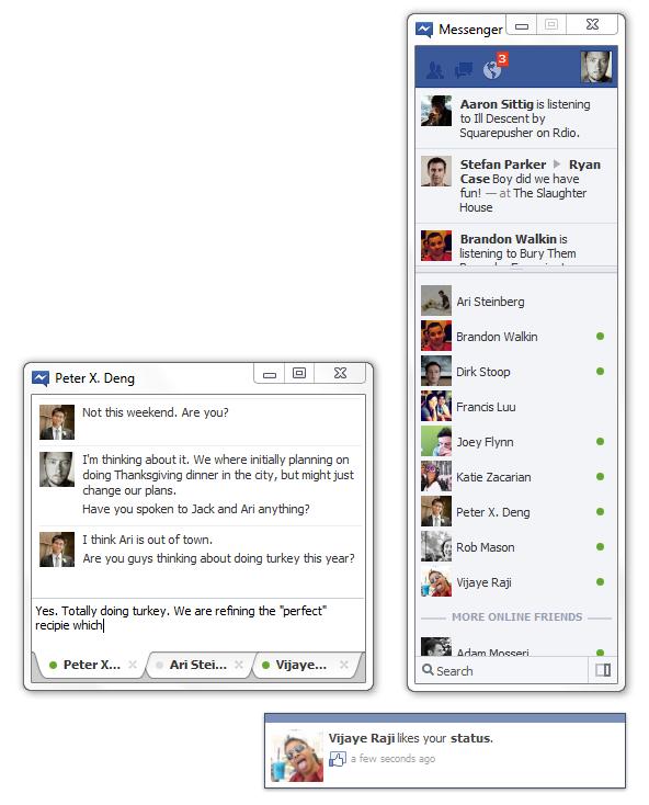 Facebook Windows 7 Messenger  Windows