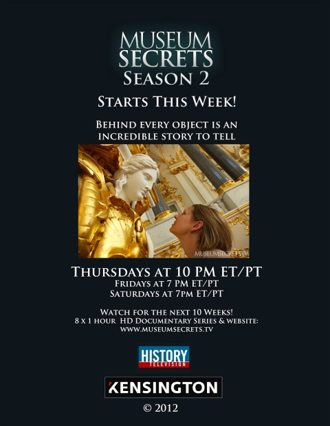 Museum Secrets Season 2 poster resize