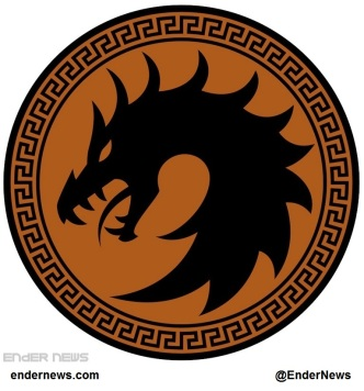 Enders Game Dragon Army Battle School Logo via EnderNews.com