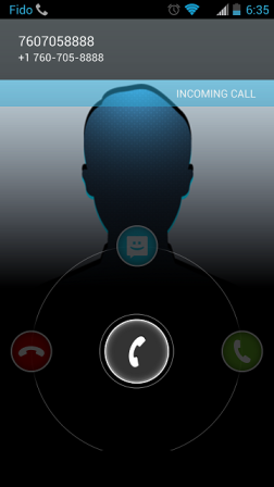Android Call ID No Name Display