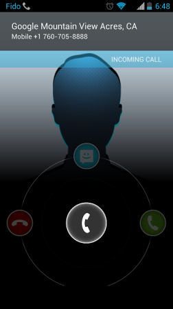 Call ID with Name Display Android