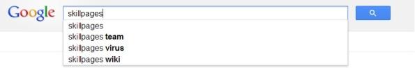 SkillPages Google Autocomplete