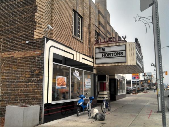 Allenby Theatre Esso Tim Hortons Toronto December 2012