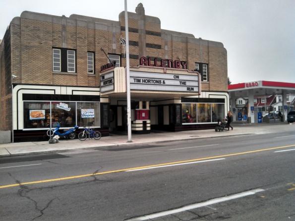 Esso Tim Hortons Allenby Theatre Toronto December 2012