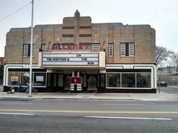 Esso Tim Hortons Allenby Theatre Toronto