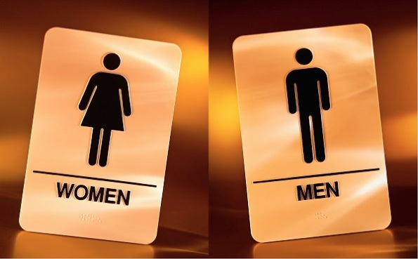 Women's & Men's Washroom Signs