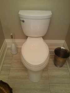 Lid Down Seat Down Toilet