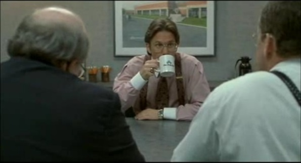 Lumbergh talking to Bobs - Office Space