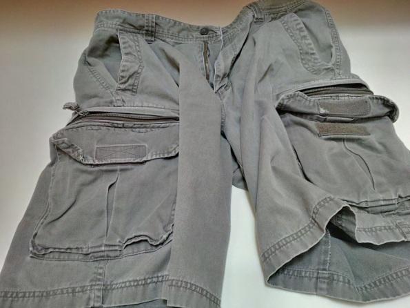 6 Front Pockets Cargo Shorts