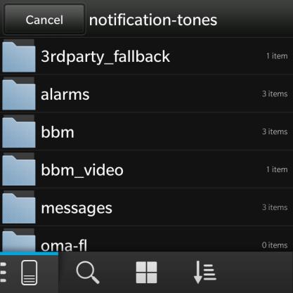 BlackBerry 10 Choosing Notifications