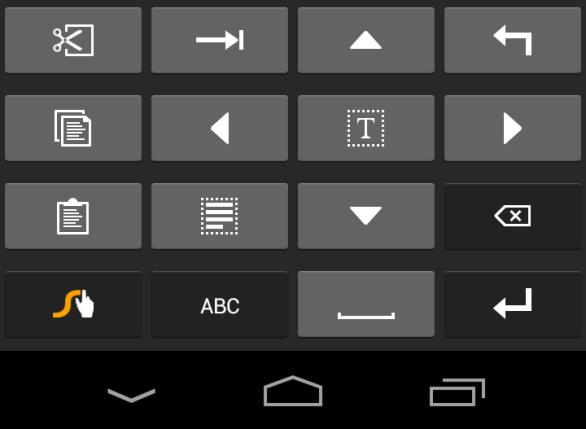 Swype Edit Layer Keyboard