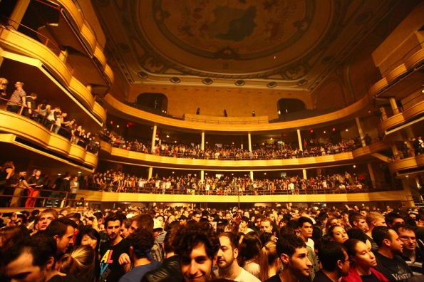 New York City Hammerstein Ballroom concert crowd