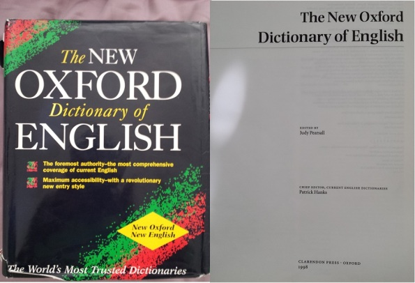 New Oxford English Dictionary Front Cover & Inside Front 2013-08-17 18.13.05