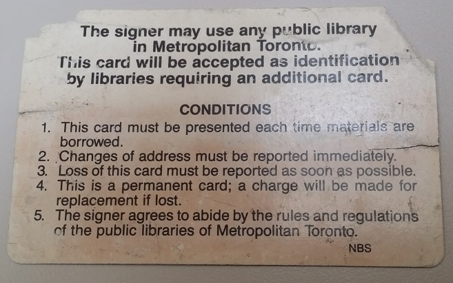 how to get toronto public library card