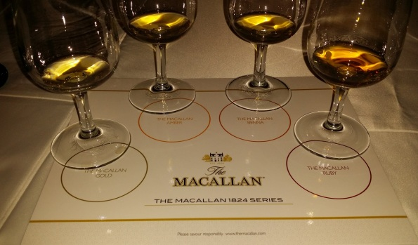 1824 Series The Macallan in glasses