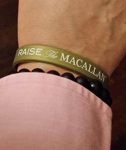 Wristband RaiseTheMacallan Toronto