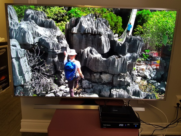 Nature on Rogers Sportsnet 4k Samsung 55 inch 4k TV